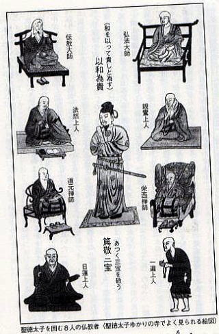 聖徳太子の偶像、古代日本の隠蔽...